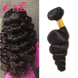 Wholesale Quality Remy - Newest Brazilian Peruvian Malaysian Chinese 8A Virgin Remy Hair Weave Loose Wave Unprocessed Virgin Wholesale Weft Best Quality Hair Weaves