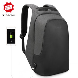 school bag teens Coupons - Tigernu brand men women anti theft backpack for 15.6 laptop casual travel waterproof backpacks school bag for teens boys girls