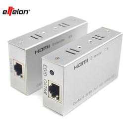 Canada Effelon 60 M / 196ft 1080 P HDMI Extender HDMI Transmetteur Récepteur sur Cat 5e / 6 RJ45 Ethernet Convertisseur 1080 P avec adaptateur secteur cheap ethernet extender adapter Offre