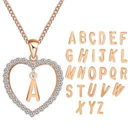 352368fa1 2018 Simple gold Color love heart necklaces & pendants double Rhinestone  choker necklace women statement jewelry Bijoux