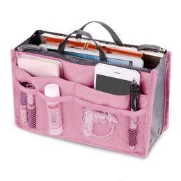 Wholesale Travel Kit Bag For Women - Multifunction Makeup Organizer Bag Women Travel Cosmetic Bags For Make Up Bag Nylon Toiletry Kits Makeup Bags Cases Cosmetics