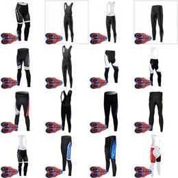 Wholesale Fast Bib - 2018 new hot ropa ciclismo camisa de ciclismo GIANT bib long pants 9D gel pad windproof breathable fast drying men's D1209