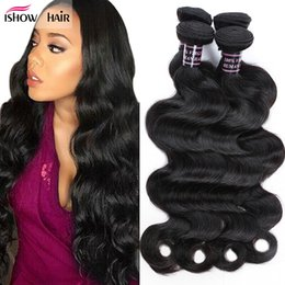 Wholesale Brazilian Human Hair Weaves - 8A Cheap Mink Brazillian Body Wave Unprocessed Braizlian Virgin Human Hair Wholesale Wet And Wavy Brazilian Hair Weave Bundles Natural Color