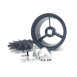 2019 dji mavic pro accesorios 64mm FED QX-Motor con 12 cuchillas conductos ventilador sin Traje de motor para aviones RC