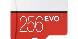 2019 Hot Preto Vermelho Plus + C10 64 GB 128 GB 256 GB Cartão de Memória TF Cartão de Memória, Pacote de Blister Varejo grátis, frete Grátis de