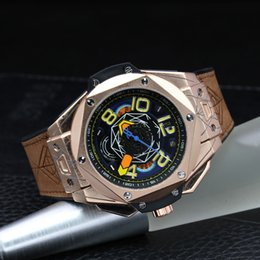 Wholesale fast butterfly - Luxury men quartz watch multi-function waterproof clock high quality Casual watch fast delivery