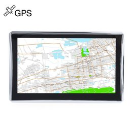 Wholesale Books English - 7 inch Truck Car GPS Navigation Navigator with Free Maps Win CE 6.0 Touch Screen E-book Video Audio Game Player