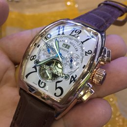 2019 reloj de pulsera corea AAA Nueva Marca de Lujo Movimiento Automático Tag Hombres Relojes Tourbillon día fecha Dive Mens Reloj Mecánico Moda Deportes Relojes de Pulsera montres
