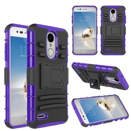 cases for coolpad Promo Codes - Holster Stand Clip Case For LG G7 Stylo 4 Aristo 2 lv3 K10 2018 K30 Coolpad Revvl Plus Samsung Galaxy J3 J7 2018