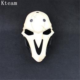 2019 videospiel requisiten 2017 Top Qualität Harz Film Spiel Maske Party Cosplay Kostüm Prop Für Video Spiel Gesichtsmaske Für Halloween Party Cos günstig videospiel requisiten