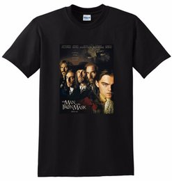 Mezzo di ferro online-THE MAN IN THE IRON MASCHERA T SHIRT bluray dvd poster tee SMALL MEDIUM LARGE o XL Mens 2018 fashion Brand T Shirt