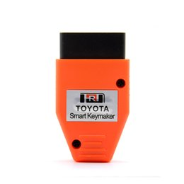 Wholesale smart key for lexus - Toyota Smart Keymaker OBD EOBD2 key Programming For 4C 4D Chip for Toyota Key Maker Smart Add New Key Safe Security