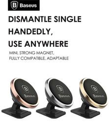 original Baseus Universal Magnetic 360 Degree Rotation Phone Car Holder Magnet mount Holder For iPhone Samsung SmartPhone GPS
