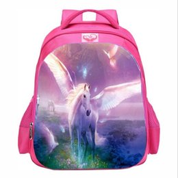 8a641708870a Discount unicorn bags - 9-14years old fantasy Pegasus unicorn school bag  primary and secondary