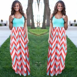5e0ee9c7a7db 2019 abiti femminili Nuove donne Summer Beach Boho Maxi abito di alta  qualità di marca a