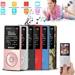 2019 base maestra Nuevo Ruizu X02 Reproductor de MP3 MP4 de 8GB Reproductor de música y video FM Sintonizador de FM Hifi LOSSLESS