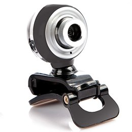 Câmeras de tv on-line-Câmera USB HD HD 480 P PC Câmera com Microfone De Absorção MICROFONE para Skype para Android TV Câmera Rotativa Do Computador Webcam