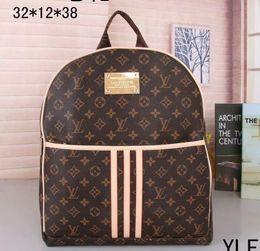 Wholesale handbags charms - New Men Women Designer Backpacks 2018 Luxury Brand Size 32*12*38 Men and Women Fashion handbag Charms