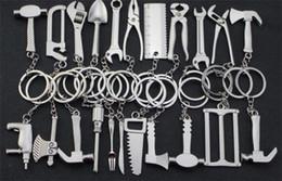 100 unids mini herramientas llavero de metal herramienta ajustable llave inglesa llave llavero creativo J120 desde fabricantes