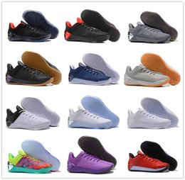 Wholesale kb shoes elite - Hot Sale 2018 Kobe 12 A.D EP Men's Basketball Shoes For Men Kobe Kobes XII Elite Sports KB 12s AD Low Sports Trainers Sneakers Size US 7-12