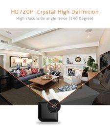 Wholesale Night Vision Hidden Cctv - 2018 Hight Quality HD720P Night Vision Mini Wifi Body Camera Motion Detection CCTV Hidden Cameras C3
