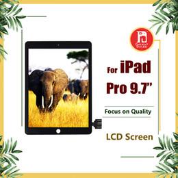 Adhesivo digitalizador 3m online-Para IPad Pro Pantalla LCD de 9,7 pulgadas con pantalla táctil Reemplazo del ensamblaje del digitalizador con pegamento adhesivo 3M