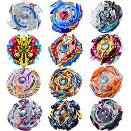 Wholesale Mini Top Box - 4 Stlyes New Spinning Top Beyblade BURST B86 With Launcher And Original Box Metal Plastic Fusion 4D Gift Toys For Children