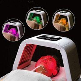 4-цветная светодиодная терапия OMEGA Light для удаления прыщей, светодиодная фотонная маска PDT light Съемный салон красоты cheap salon lighting от Поставщики освещение салона