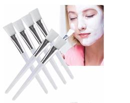 Kits faciales para el hogar online-2019 Mascarilla Facial Kit de Cepillo Pinceles de Maquillaje Ojos Cara Máscaras para el Cuidado de la Piel Aplicador Cosméticos Hogar DIY Máscara de Ojos Facial Use Herramientas Mango Claro