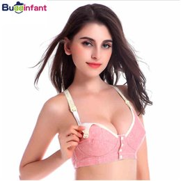 d8e31e0de890c Pregnancy   Maternity Nursing Bras Wireless Front Side Closure Underwear  Sleeping Feeding Bra Cotton Clothing for Women Mother