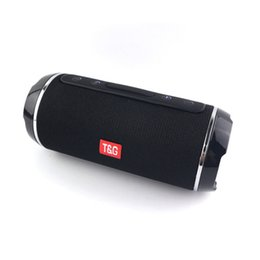 Canada Sans fil Bluetooth Stéréo TG116 Haut-Parleur IPX5 Portable HIFI Subwoofer Aux En Plein Air Partie Escalade Vélo Téléphone cheap cycle bluetooth speaker Offre