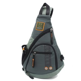Wholesale Sling Rucksack - Waterproof Oxford Men Single Shoulder Messenger Chest Bag High Capacity Travel Military Cross body Bags Sling Rucksack Back Pack