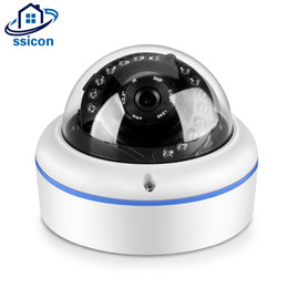 Wholesale Megapixel Ip Cameras - SSICON Full HD 1080P Security Dome Vandal Proof Water Proof Surveillance CCTV Camera Indoor 2 Megapixel IP Camera for House