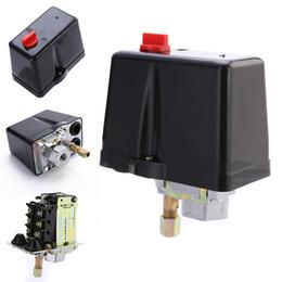 2019 werkzeugsteuerung 3-Phasen 230 V 400 V 16A Druckschalter Für Kompressor Luftkompressoren Schalter Control 90-120 PSI Home Tools günstig werkzeugsteuerung