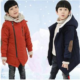 Canada Nouvelle Marque 2018 Automne Hiver Mode Enfants Vestes Décontractées Garçons Cachemire À Manches Longues À Capuche Manteaux Enfants Vêtements Chauds Offre
