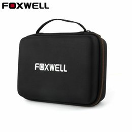 Wholesale check scanner - Hard Protection Carrying Case for FOXWELL NT301 Obd2 Code Reader Check Engine Light Scanner Polyester Fibre & EVA Premium Case