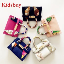 Wholesale Children Purses Handbag - Kidsbuy Classic Stylish Handbags for Children Kids Small Size Leather Totes Famous brands purse for baby girls Toddlers small purse KB119