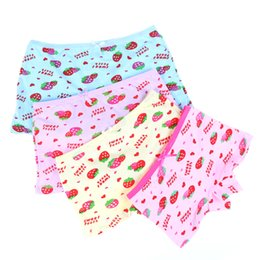 Wholesale Panties For Kids - 2018 Fashion Cartoon Cat Baby Girls Underwear Cotton Panties Shorts For Kids Short Briefs Children Underpants