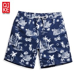 Wholesale hawaiian shorts - Summer Mens Swimming Shorts Praia Hawaiian Bermudas Swimwear Men Bathing Suit Swimsuits Sexy Navy Plavky Mesh Liner Beach Surf