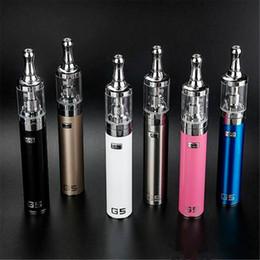 Mejores kits de vapor online-El mejor kit de cigarrillo electrónico GS-G5 2200mah 0.8 ohm GS batería de cigarrillo electrónico Kit portátil de caja