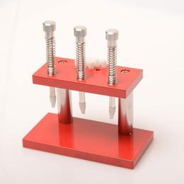 Nouveau prix de montre de main en Ligne-Le meilleur prix Presto Press 3 Presser Chrono Montre Réglage de la main Montage Réparation Outil de l'horloger Nouvel arrivage