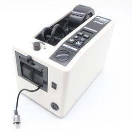 máquina de tarifa Rebajas Dispensador automático de cinta máquina de corte eléctrica Máquina de cinta Máquina de corte de cinta de 5 mm-999 mm Ancho de 50 mm y alta velocidad M-1000S