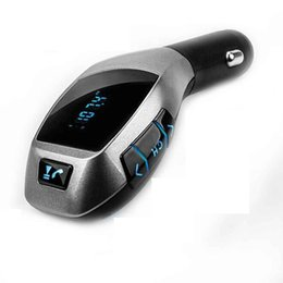 Wholesale play cars free - Bluetooth FM Transmitter In-Car Radio Adapter, Car MP3 Player, Hands-free Bluetooth Car Kit with Dual USB Port TF Play for iPod iPhone