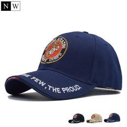Wholesale Marines Hats - [NORTHWOOD] 2018 United States Marine Corps Tactical Bone Baseball Cap Men Navy Seals Hat For Adult Size 56-59cm