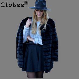 083437bcc9a7e Faux fur jacket 2018 New Plus Size XL XXL XXXL 4XL 5XL 6XL Winter Warm  White Faux Fur Coats Luxury Fake Fur Coats For Women ABC6 C18111401
