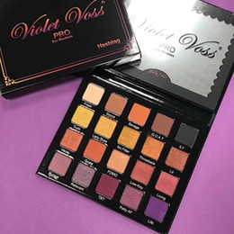 Wholesale Free Eyeshadows - Factory Direct DHL Free Shipping HOT NEW Violetvoss Hashtag PRO Eyeshadows palette 20 color eyeshadow
