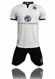 Wholesale University Blue Shirt - best Adult kitS 2018 colo colo Soccer jersey University 18 19 Chile Club home Sports shirts men jeresys set