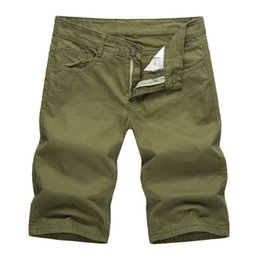 747eb8f3226 Dropshipping 2018 Summer Solid Color Casual Shorts Men Women Cotton White  Khaki Black Army green Red Blue Shorts J0092