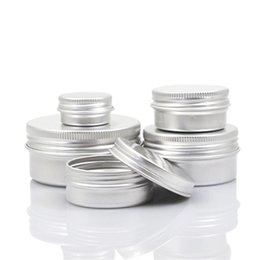 Wholesale Lip Balm Boxes Wholesale - Aluminium Cream Box Metal Lip Balm Jar Cosmetics Subpackage Bottles New High Quality 1 6ym6 C R