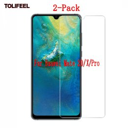 2019 huawei mate protetor de tela 2-pack limpar vidro temperado para huawei mate 20 mate20 x pro lite protetor de tela do telefone protetor de filme guarda 9 h desconto huawei mate protetor de tela